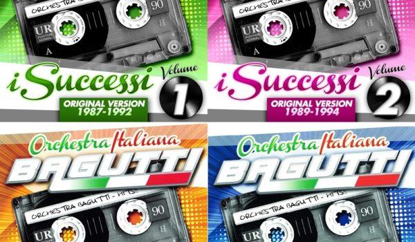 "ORCHESTRA ITALIANA BAGUTTI ""I SUCCESSI"" 4 CD 40 €. SPESE INCLUSE"