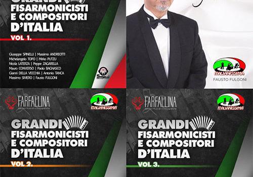 LE FISARMONICHE DI ITALIANISSIMA 4 CD 40 EURO SPESE INCLUSE