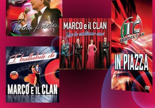 MARCO E IL CLAN – IN PIAZZA  CD DVD