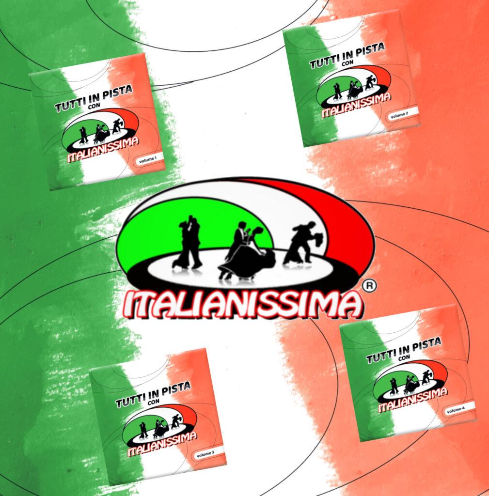 TUTTI IN PISTA CON ITALIANISSIMA 4 cd 40 euro spese di spedizione incluse