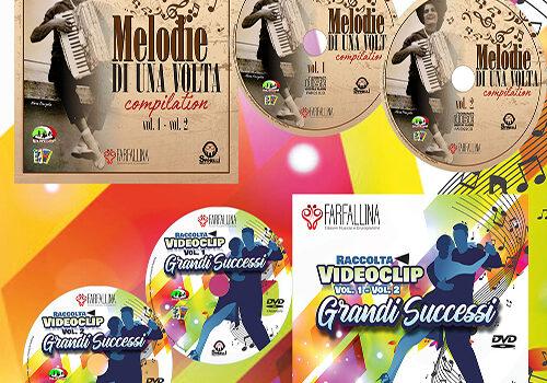 2 CD MELODIE DI UNA VOLTA 2 DVD GRANDI SUCCESSI
